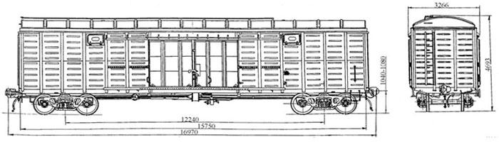 Грузоподъемность, тонн: 67 Масса тары вагона, тонн: 24,7/27,0 Размеры вагона внутренние, м (Длина/Ширина): 15,724/2...