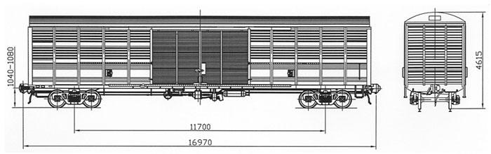 Срок службы. для перевозки упакованных легковесных грузов.  Изготовитель.  Крытый вагон.  Назначание.