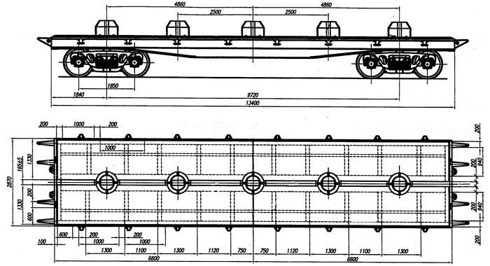Схема платформы 13 401